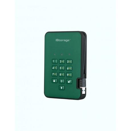 iStorage diskAshur2 256-bit 500GB - Green
