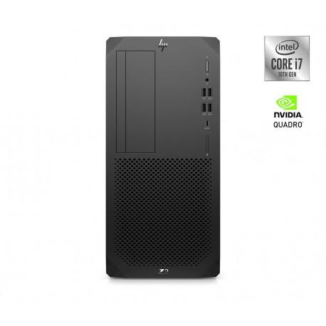 Računalnik HP Z2 G5 TWR i7-10700, 16GB, SSD 512GB, P2200, W10P