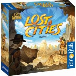 Družabna igra Lost Cities – Dvoboj (Izgubljena mesta) (2020)