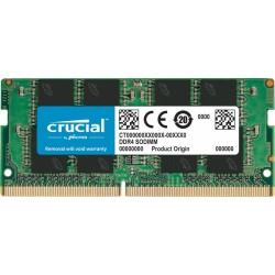 Pomnilnik SODIMM DDR4 8GB 2666MHz Crucial, CT8G4SFRA266