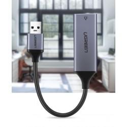 Ugreen USB 3.0 Gigabit Ethernet Adapter mrežna kartica siv