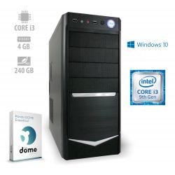 Osebni računalnik ANNI HOME Optimal / i3-9100 / SSD / W10 / CX3