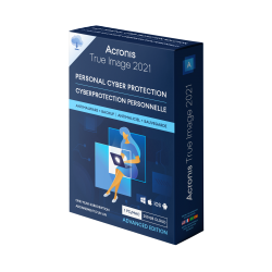 Acronis True Image Advanced Protection, 1 computer, 250 GB Cloud, 1YR ESD