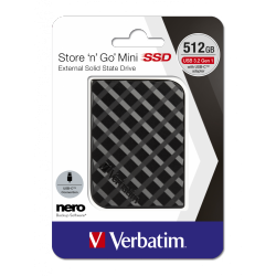 Zunanji disk SSD Verbatim Store n Go Mini 512GB 53236