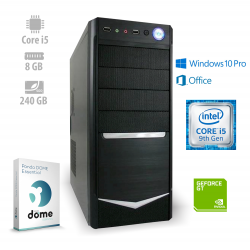 Osebni računalnik ANNI OFFICE Optimal / i5-9400F / GT 710 /  SSD / W10P / CX3