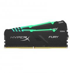 Pomnilnik DDR4 32GB (2x16GB) 3200 Kingston HX FURY RGB, HX432C16FB3AK2/32