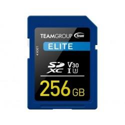 Teamgroup Elite 256GB SD UHS-I V30 90MB/s spominska kartica, DEMO