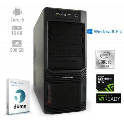 Osebni računalnik ANNI WORKSTATION Advanced / i5-11600K / GTX 1660 / W10P / PF7