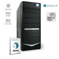 Osebni računalnik ANNI OFFICE Advanced / i5-10400 / SSD / W10P / CX3