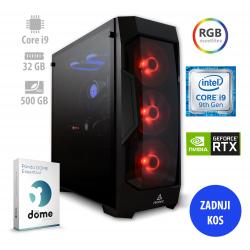 Osebni računalnik ANNI GAMER Extreme / i9-9900K / RTX 2080S / 32GB / NVMe / PF7G