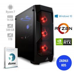 Osebni računalnik ANNI GAMER Extreme R7 3700X / RTX 3070 / NVMe / W10P / PF7G