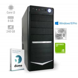 Računalniški komplet ANNI Office i3-9100F / GT710 / 8GB / W10P / CX3