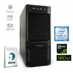 Osebni računalnik ANNI HOME Advanced / i5-9400F / GT710 / SSD / PF7