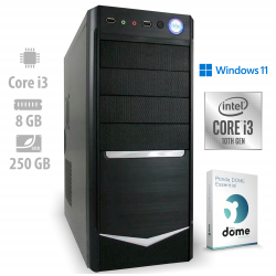Osebni računalnik ANNI HOME Classic / i3-10100 / 8 GB / NVMe / W11 / CX3