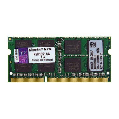 Pomnilnik za prenosnik DDR3 8GB 1600MHz 1.5V Kingston (KVR16S11/8)