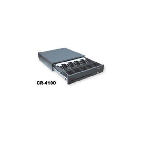 Predalnik za denar Posiflex CR4100, črn, POS priklop