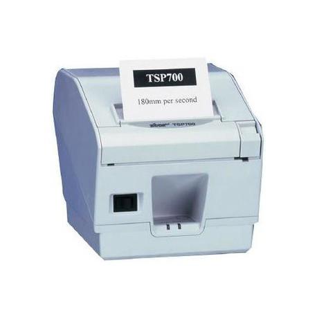 Blagajniški termalni tiskalnik STAR TSP-743IIC ČRN, PARALELNI  z nožem