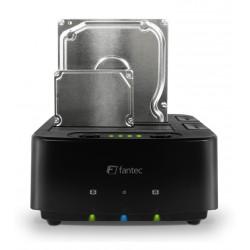 Čitalec diskov Fantec USB 3.0 2x SATA v ohišju