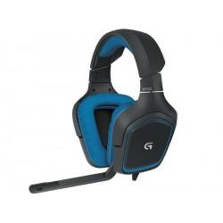 Slušalke z mikrofonom Logitech G430 Gaming USB