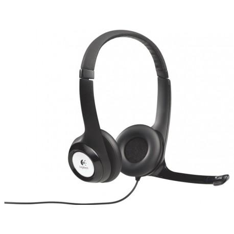 Slušalke z mikrofonom Logitech H390 USB
