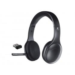 Slušalke z mikrofonom Logitech H800 brezžične bluetooth