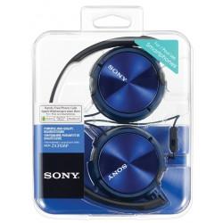 Slušalke naglavne SONY MDRZX310APL, modre barve, MDRZX310APL.CE7