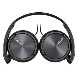Slušalke naglavne SONY MDRZX310APB, črne barve, MDRZX310APB.CE7