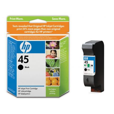 Črnilo HP 51645AE (45), črno