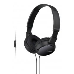 Slušalke naglavne SONY MDRZX110APB, črne barve, MDRZX110APB.CE7