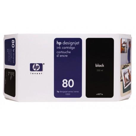 Črnilo HP C4871A (80), črno