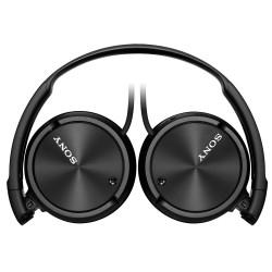 Slušalke naglavne SONY MDRZX110B, črne barve, MDRZX110B.AE