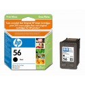 Črnilo HP C6656AE (56), črno, za 520 strani