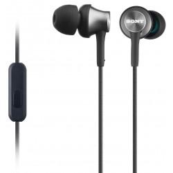 Slušalke za Android/iPhone SONY MDREX450AP črne, MDREX450APH.CE7