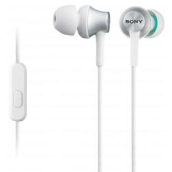 Slušalke za Android/iPhone SONY MDREX450AP bele, MDREX450APW.CE7