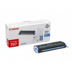 Toner Canon CRG-707C, cyan