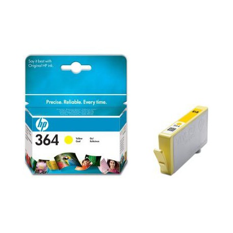 Črnilo HP CB320EE (364), yellow