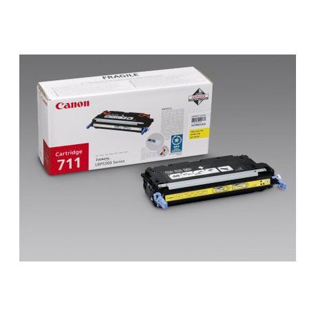 Toner Canon CRG-711Y, yellow