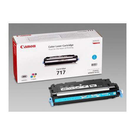 Toner Canon CRG-717C, cyan (2577B002AA)