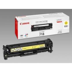 Toner Canon CRG-718Y, yellow