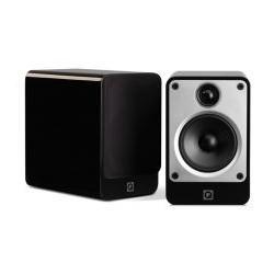 Zvočniki Hi-Fi Q Acoustics Concept 20 kompaktni par, Črna visoki sijaj