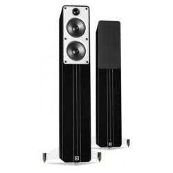 Zvočniki Hi-Fi Q Acoustics Concept 40 samostoječi par Črna visoki sijaj