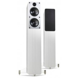 Zvočniki Hi-Fi Q Acoustics Concept 40 samostoječi par Bela visoki sijaj