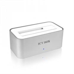 """Namizni čitalec diskov USB 3.0 za SATA 2.5/ 3.5"""" IcyBox IB-111StU3-Wh"""