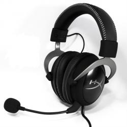 Slušalke z mikrofonom Kingston HyperX Cloud II metal črne (KHX-HSCP-GM)