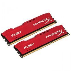 Pomnilnik DDR3 8 GB KIT 1866MHz Kingston HyperX FURY rdeč, HX318C10FRK2/8