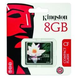Spominska kartica CF 8GB Standard 33x Kingston (CF/8GB)