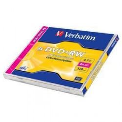 Mediji DVD+RW 4,7GB 8X Verbatim, JC 1 kom (43527)
