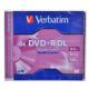 Mediji DVD+R Dual Layer 8.5GB 8x Verbatim JC-1 (43541/43540)
