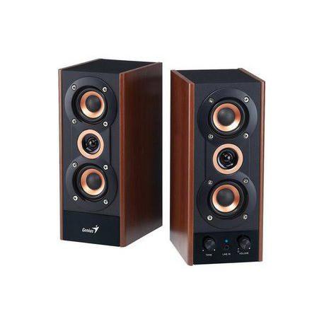 Zvočniki 2.0 20W Genius SP-HF 800A (31730997100), leseni