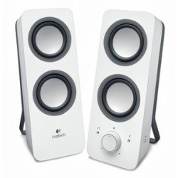 Zvočniki 2.0 5W Logitech Z200, beli